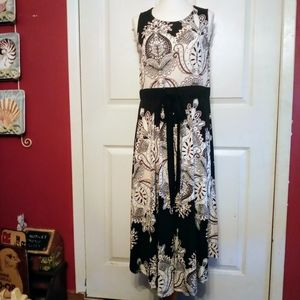 New Directions patterned dress size Medium